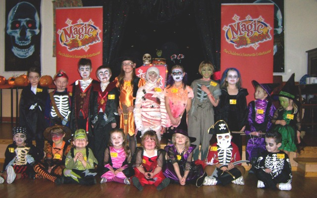Halloween Magic Show Party Portsmouth, Southampton, Hampshire